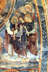 Berzé la ville (71) : fresque de la chapelle des moines - Photo of Solutré-Pouilly
