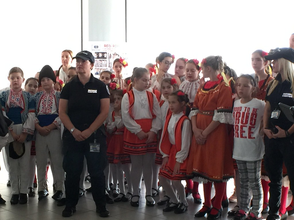 AMB Rubin Launches Red Ribbon Day at Sofia Airport
