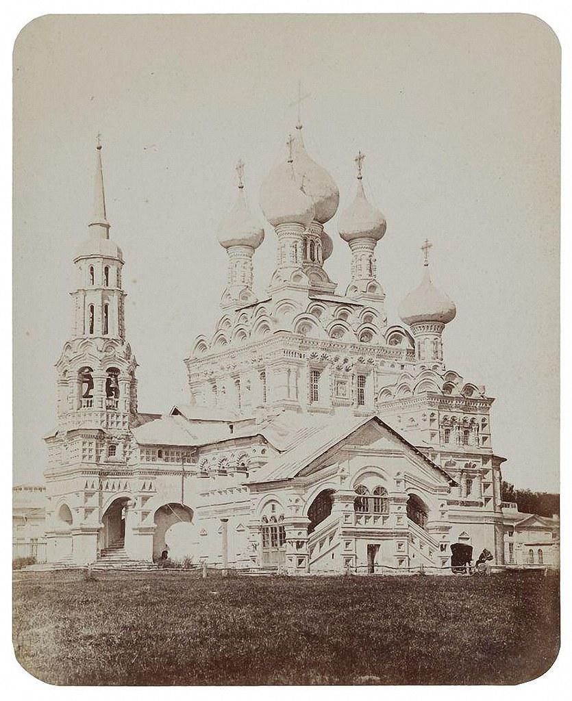 Храм Живоначальной Троицы в Останкине. 1868-1870
