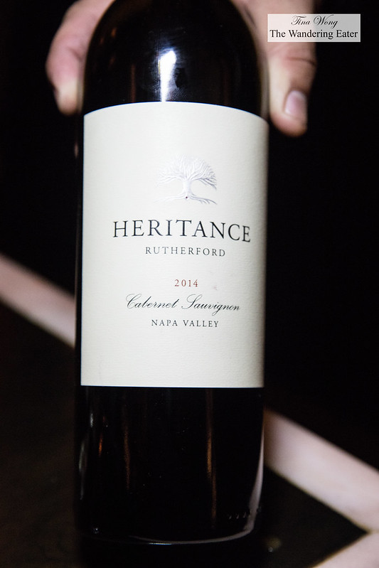 Heritance Rutherford Cabernet Sauvignon 2014