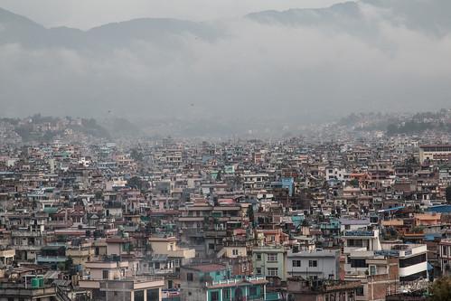 foggers nepal himalaya kathmandu asia patan bhaktapur