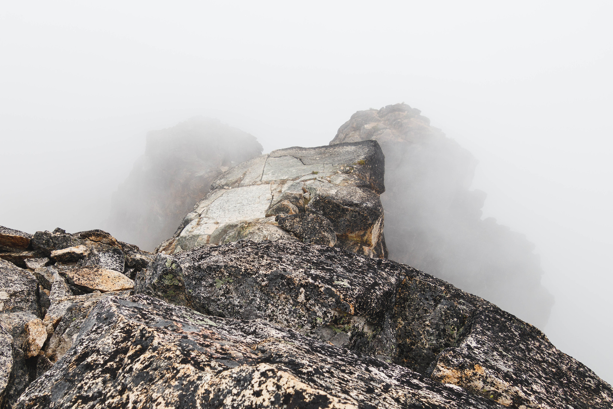 No views on the summit