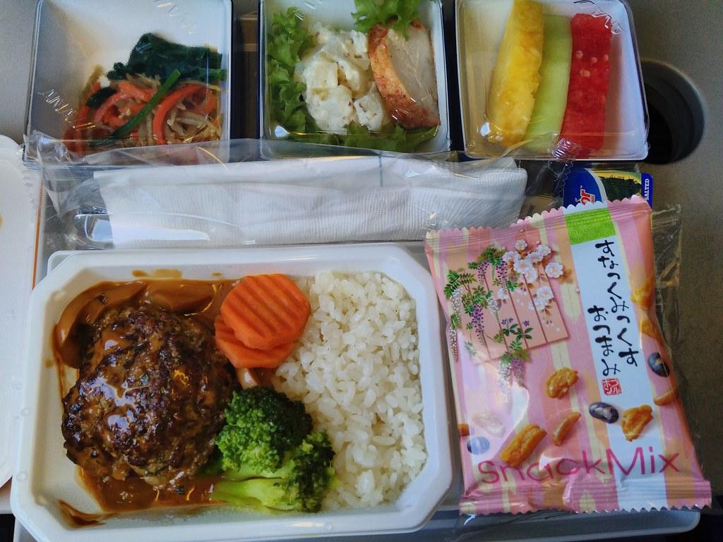 全日空飞机餐