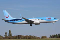 TUI Airways Boeing 737-8K5(WL) G-TAWW BHX 25/09/18