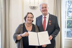 Verdienstkreuz am Bande für Oskar Fuchs