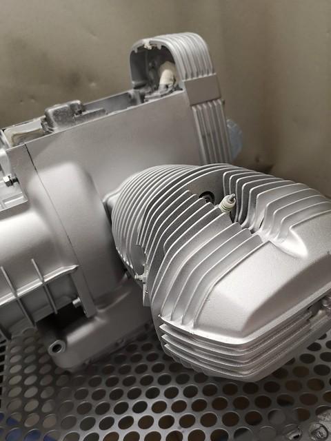 Microbillage moteur bmw