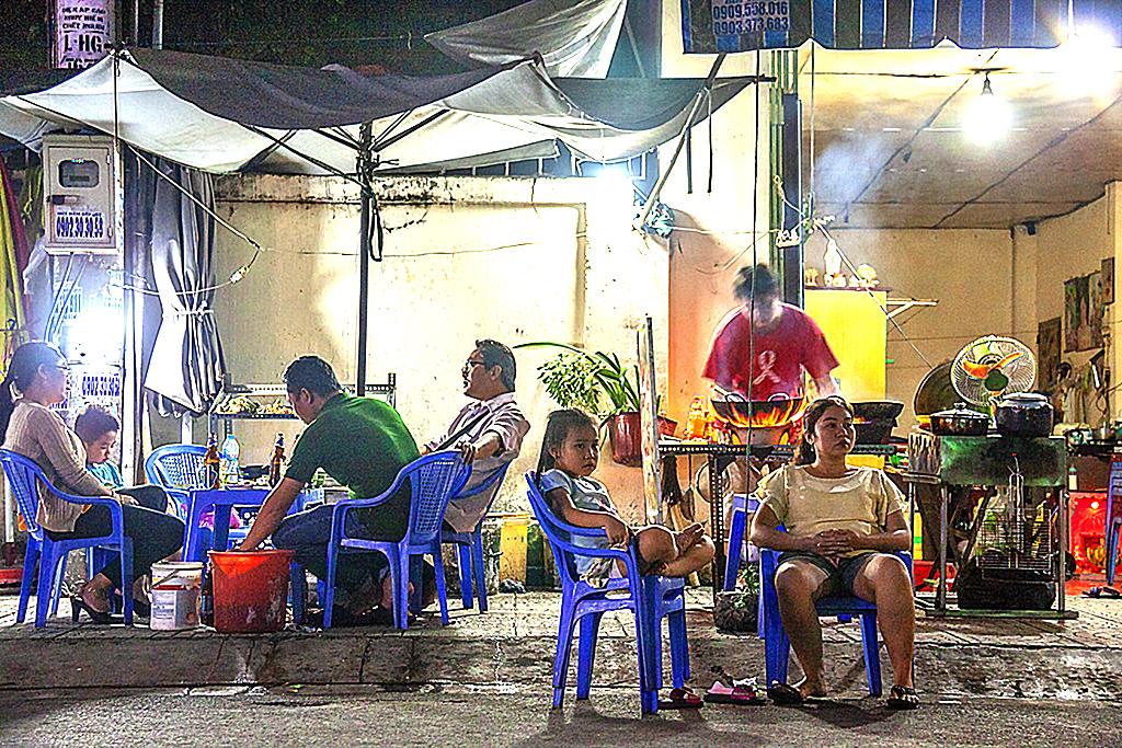Eatery near Phu Dinh Market--Saigon