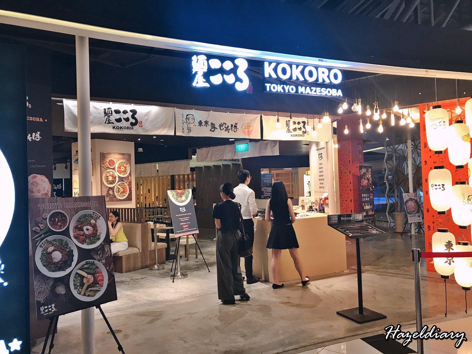 Menya Kokoro Suntec City-Tokyo Mazesoba
