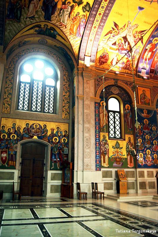 Роспись собора Св. Преображения