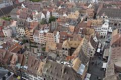 Medieval city @ Observatory @ Cathédrale Notre-Dame de Strasbourg @ Strasbourg