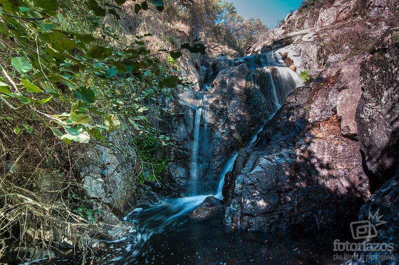 Cascada el Cancho de Navalafuente