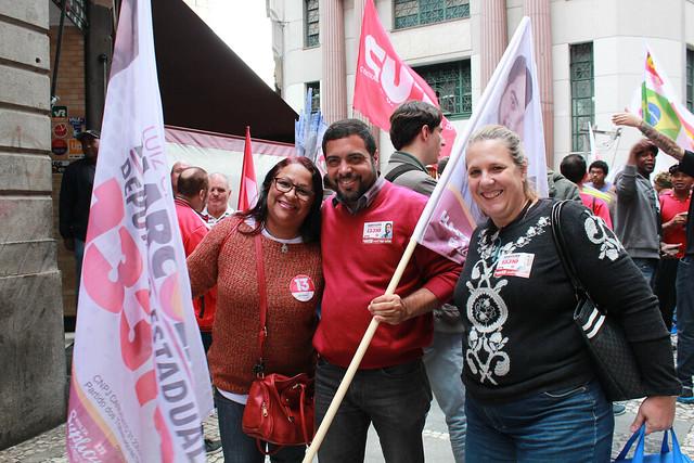 20.09.2018 - Encontro Sindicalistas com Marinho Governador Haddad Presidente