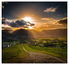 Last Light on Latrigg