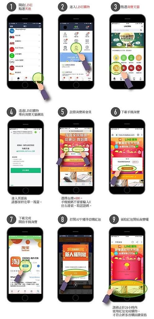Line購物淘寶6