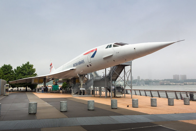 NYC - Concorde (G-BOAD) British Airways