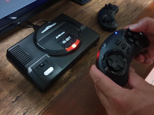 「SEGA MD 復古遊戲機」經典再現感動滿載,內建85款經典遊戲/電視遊樂器 - 24