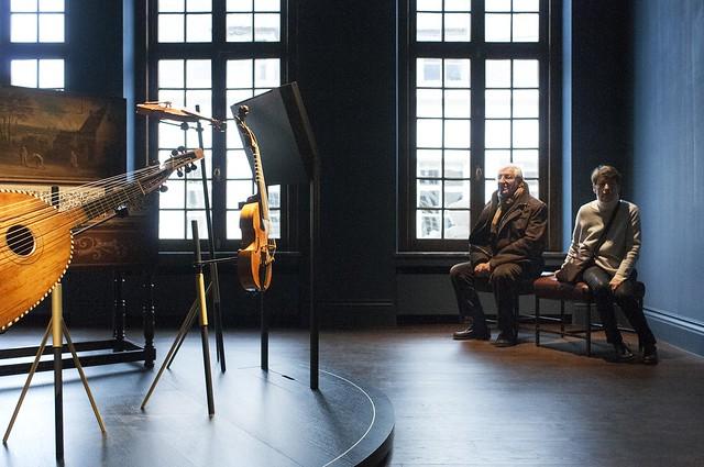 Muziekkamer in Snijders&Rockoxhuis ism Museum Vleeshuis
