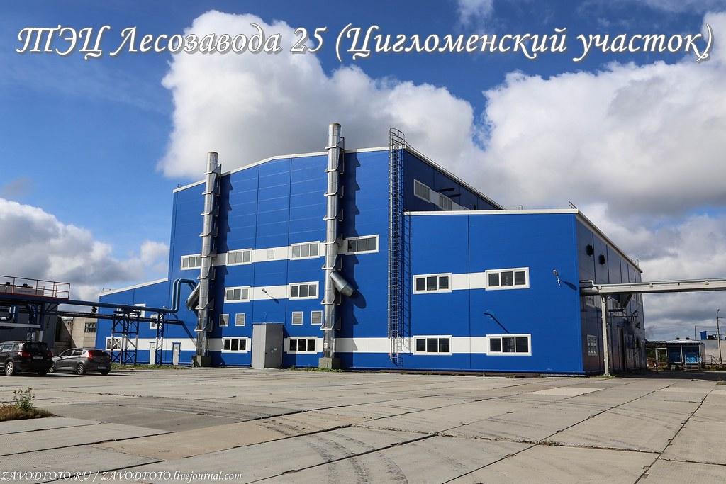 ТЭЦ Лесозавода 25 (Цигломенский участок)