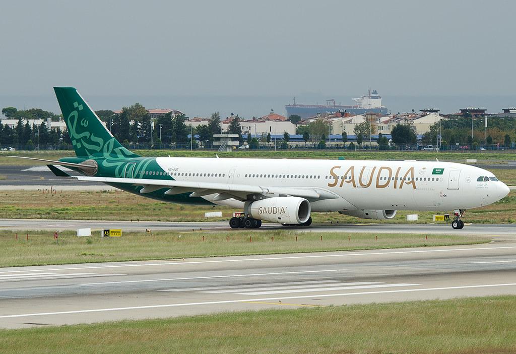 HZ-AQE Saudia - Saudi Arabian Airlines Airbus A330-343