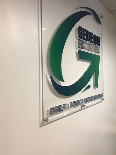 Gedeon GRC Lobby Sign