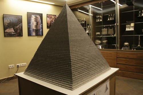 Million coin pyramid