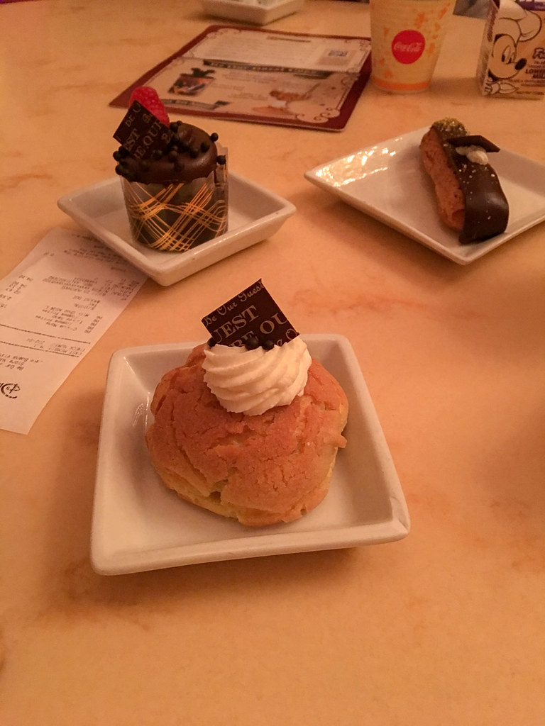 Desserts at Be Our Guest