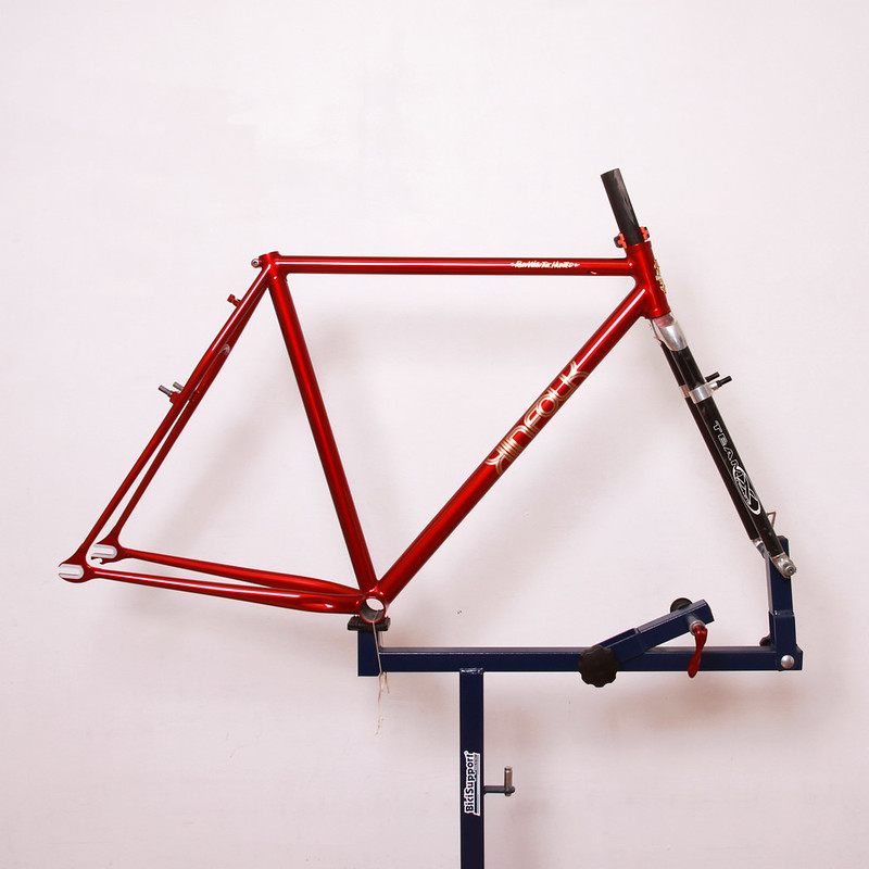 KINFOLK Steel Frame Repainted by Swamp Things