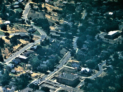 roseburgblast roseburgoregon downtonroseburg roseschool jacksonstreet 1959 kodachrome vintagecolor