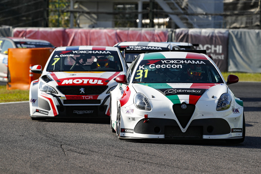 31 CECCON Kevin (ITA), Alfa Romeo Giulietta TCR, Mulsanne Srl, action during the 2018 FIA WTCR World Touring Car cup of Japan, at Suzuka from october 26 to 28 - Photo Clement Marin / DPPI