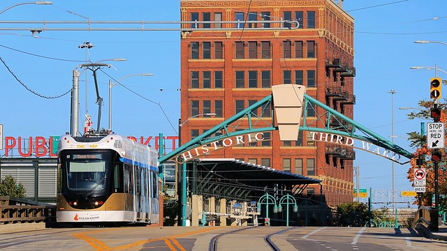 The Hop #03 westbound from the Historic Third Ward