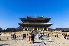 Gyeongbokgung Visiting