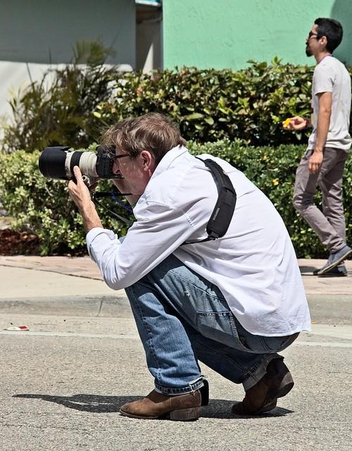 White Shirted Photographer