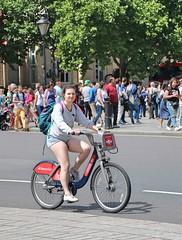 Trafalgar Square Cyclist