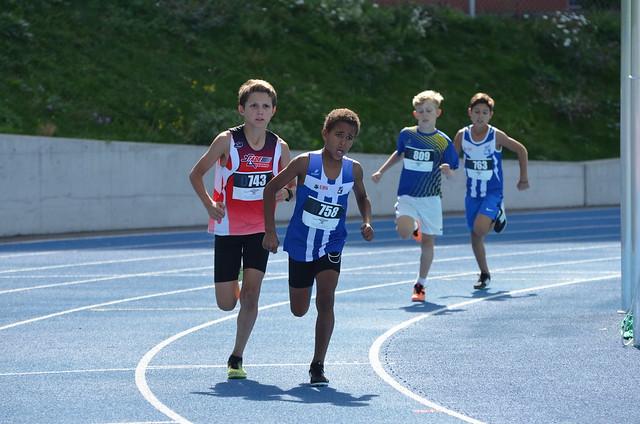 Champ. multiples 2018 - les 1'000 m