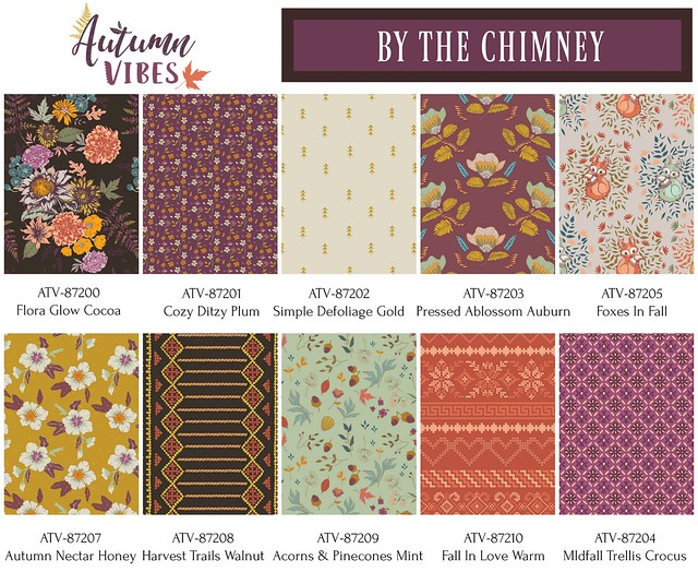 Autumn Vibes : By The Chimney Colorway