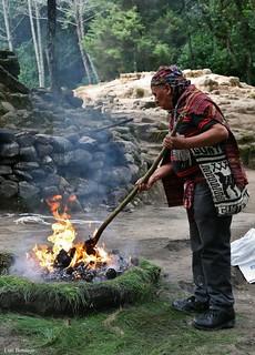 Ceremonia Ritual Maya - Iximche