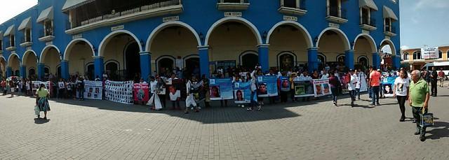 marcha desaparecidos Xicotepec 2