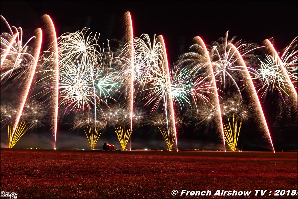 Feu d'Artifice engines and firewalls EAA Oshkosh 2018