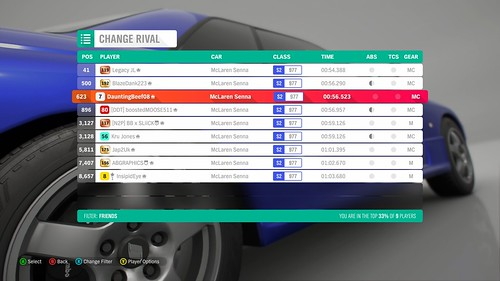 *RESULTS UP* FH4 Time Attack | Monthly Rivals - McLaren Senna 45165621691_2cc37d2f5e