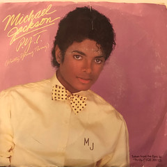 MICHAEL JACKSON:P.Y.T.(PRETTY YOUNG THING)(JACKET A)
