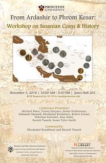 Princeton Sasanian 2018-11 poster