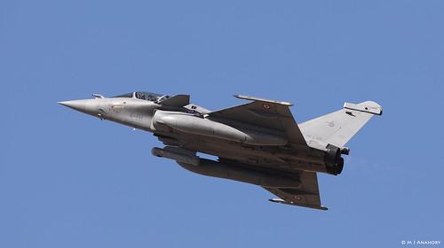 Armée de l'Air Dassault Rafale B 333/4-IH, EC 1/4 Gascogne, TLP 2018-3, Albacete AFB/LEAB