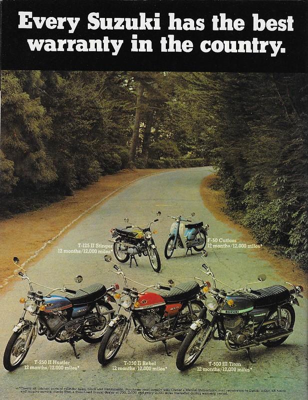Suzuki 1970 12