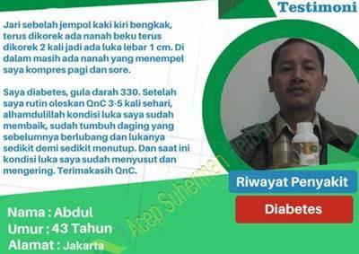 Testimoni Qnc Jelly Gamat Sebagai Obat Diabetes
