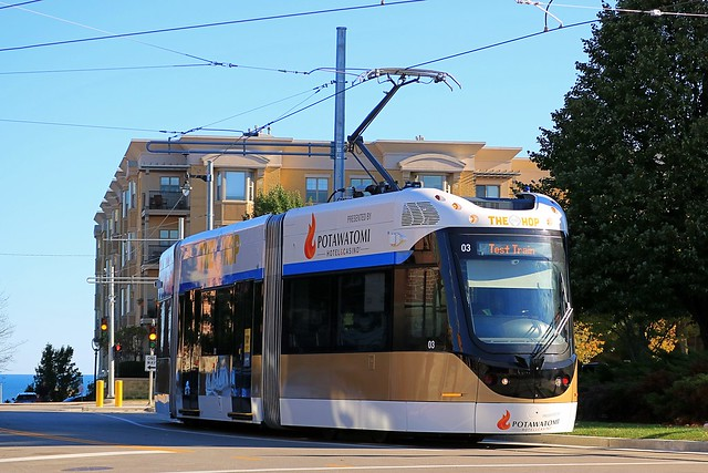 The Hop #03 westbound from Burns Commons