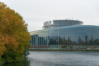 Autumn view outside the EP building