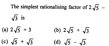 RD Sharma Class 9 Chapter 3 Rationalisation