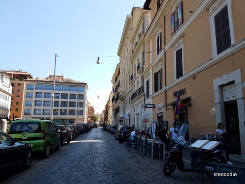 Streets near Colosseum