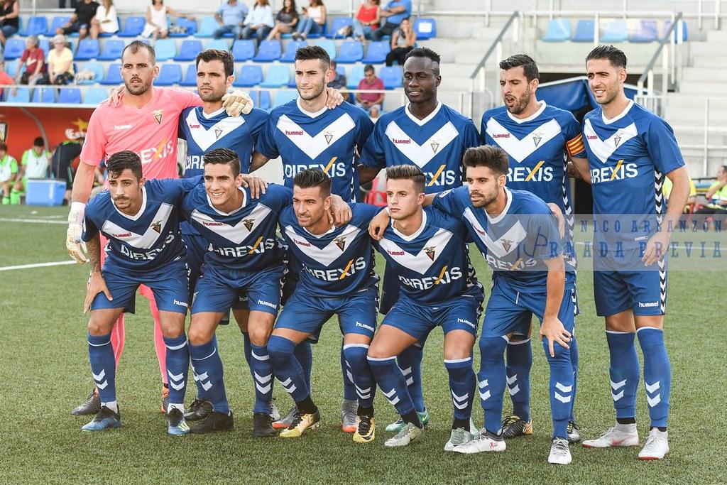 CF Badalona - Atlético Levante