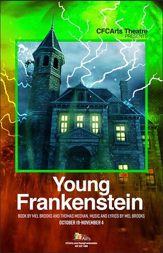 """Young Frankenstein"" at the CFCArts 'Black-box' Theatre"
